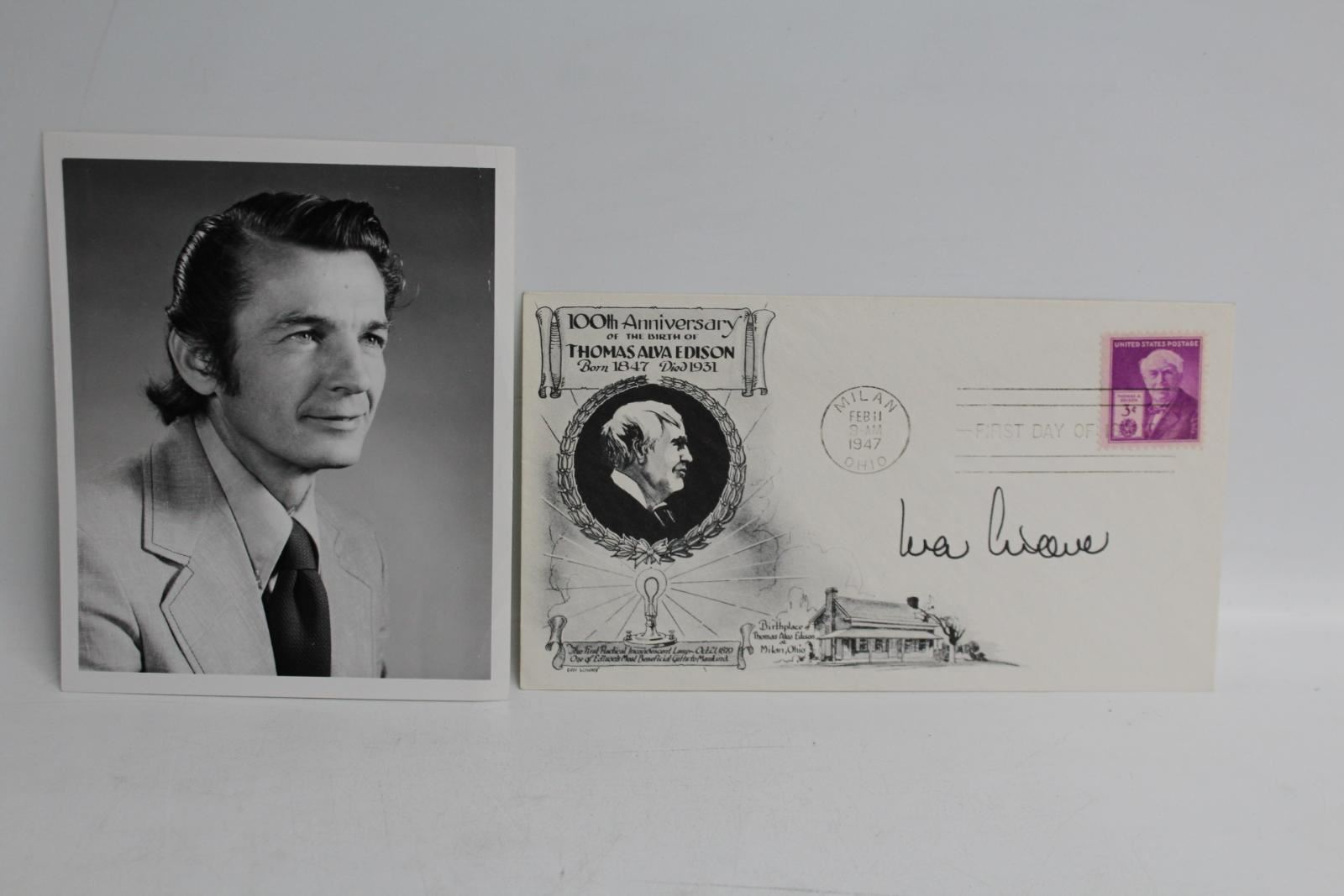 IVAR-GIAEVER-Signed-FDC-Autographed-First-Day-Cover-Nobel-Prize-Winner-Photo