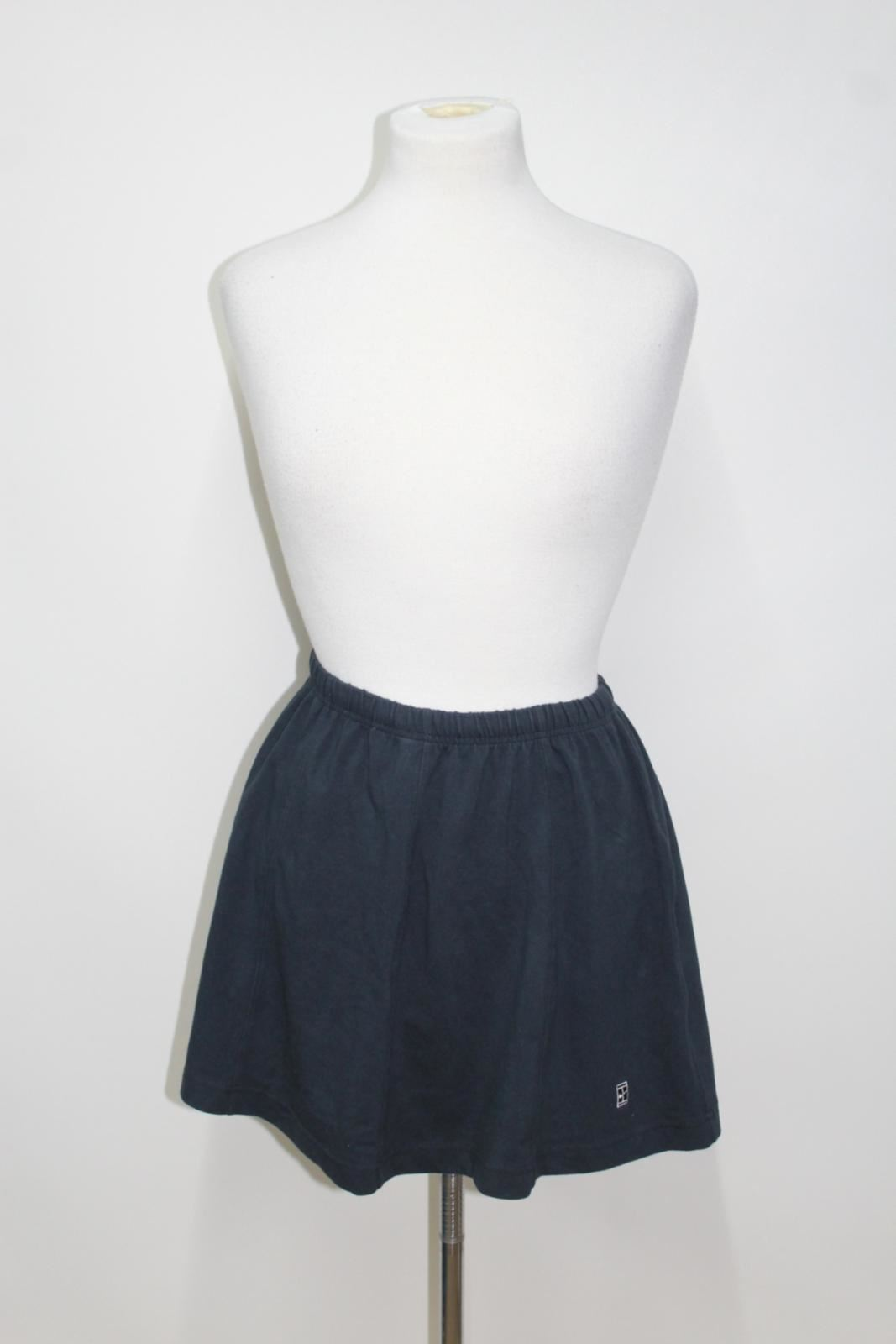 NIKE Ladies' Navy bluee Vintage Tennis Court Challenge Jersey Skirt Size S