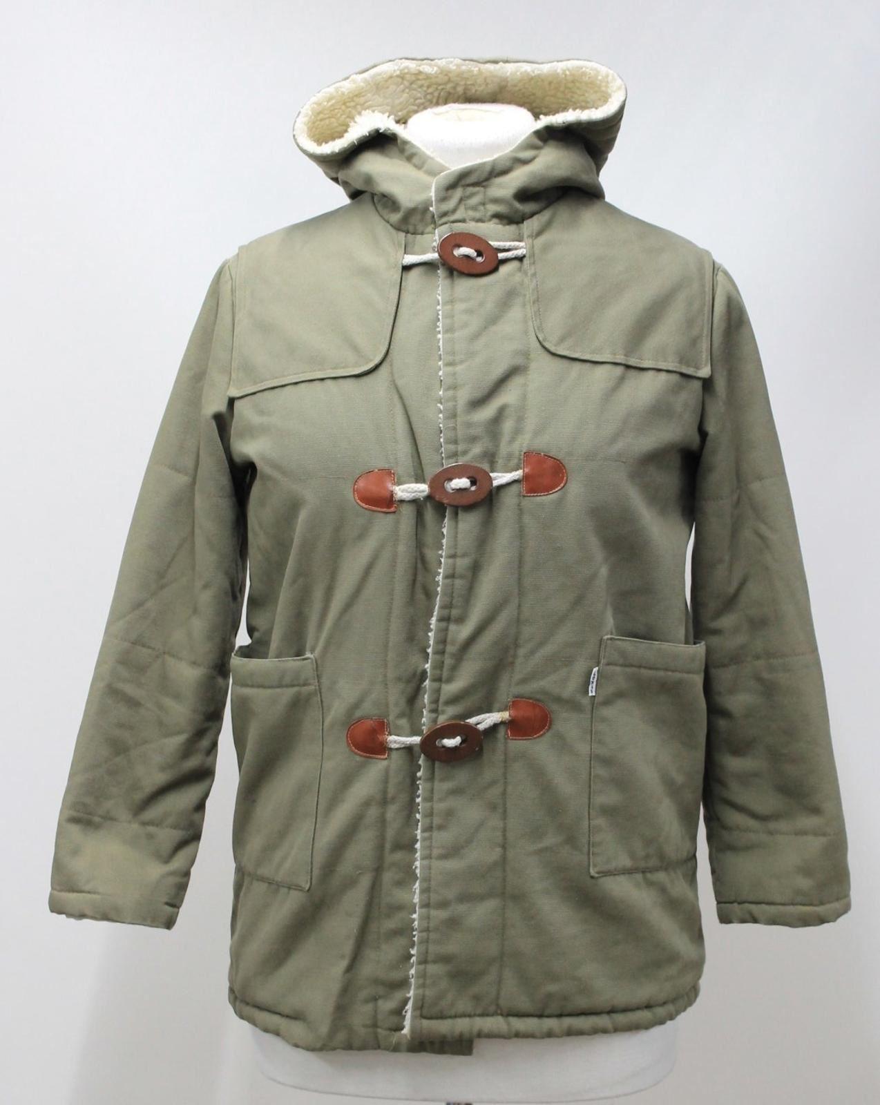 Size 16 Ladies New Fuchsia Fleece Duffle Style Hooded Parka Coat Jacket Parker