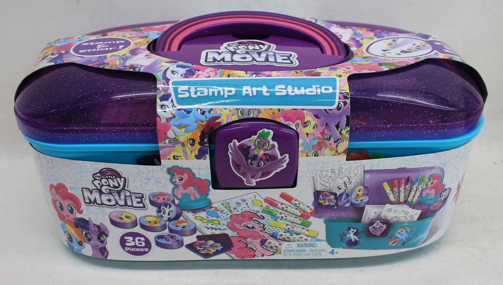CANAL TOYS 465023 My Little Pony The Movie 36-Piece Stamp Art Studio Set NEW