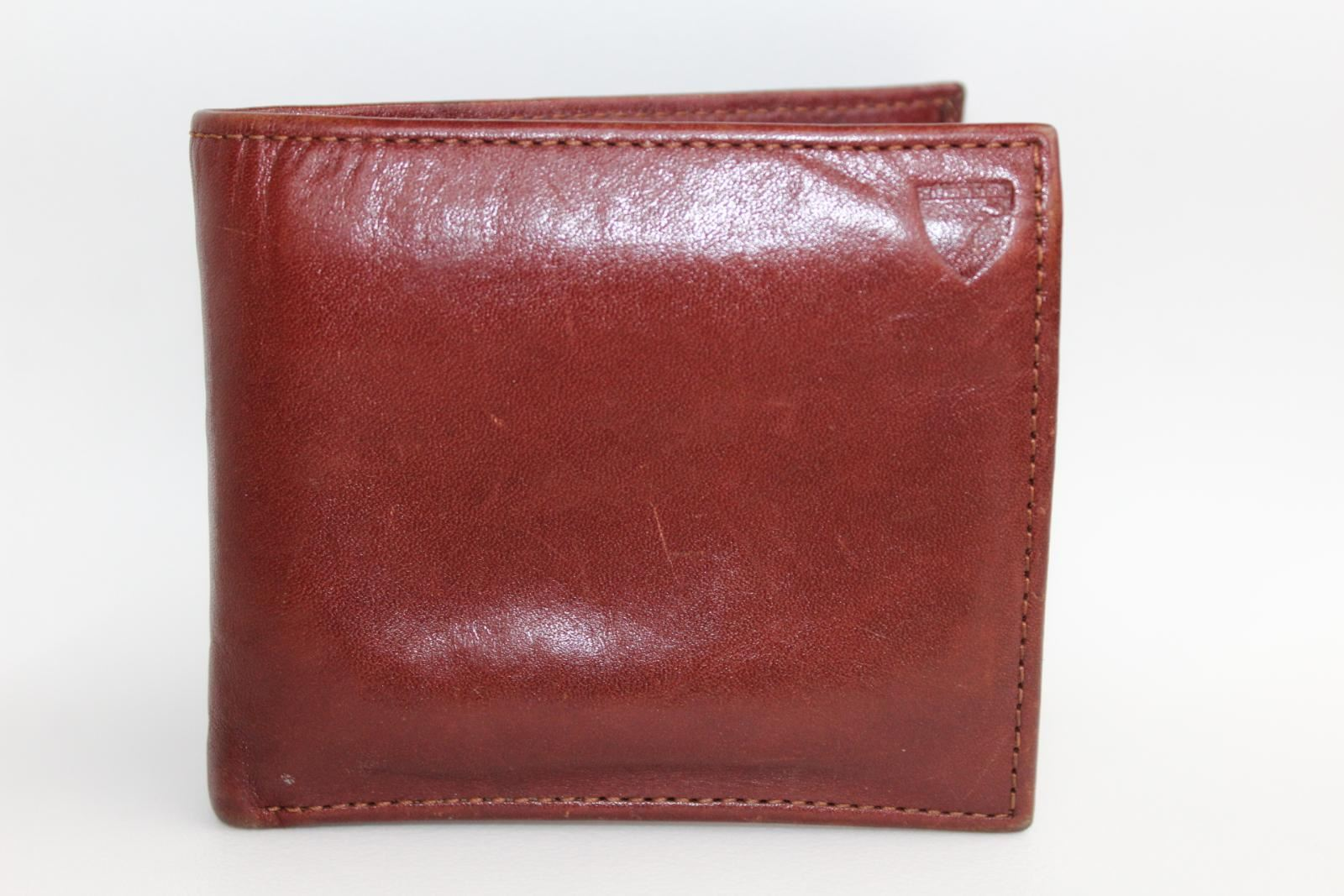 ASPINAL-OF-LONDON-Smooth-Cognac-And-Espresso-Suede-Billfold-Coin-Wallet-Embossed