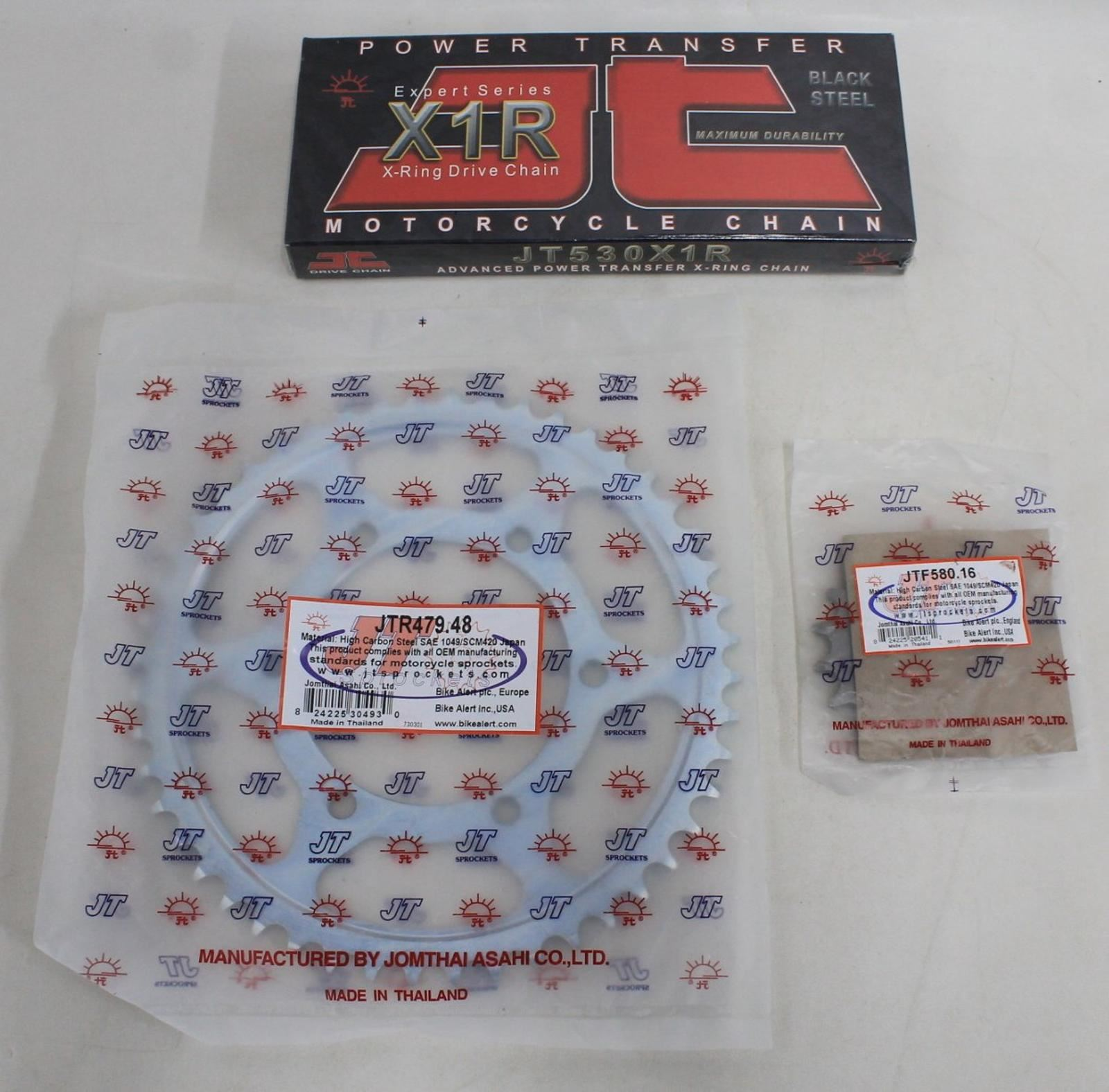 JT-X-Ring-Drive-Chain-w-Steel-Front-amp-Rear-Sprocket-Kit-For-Yamaha-YZF-R6-BNIB