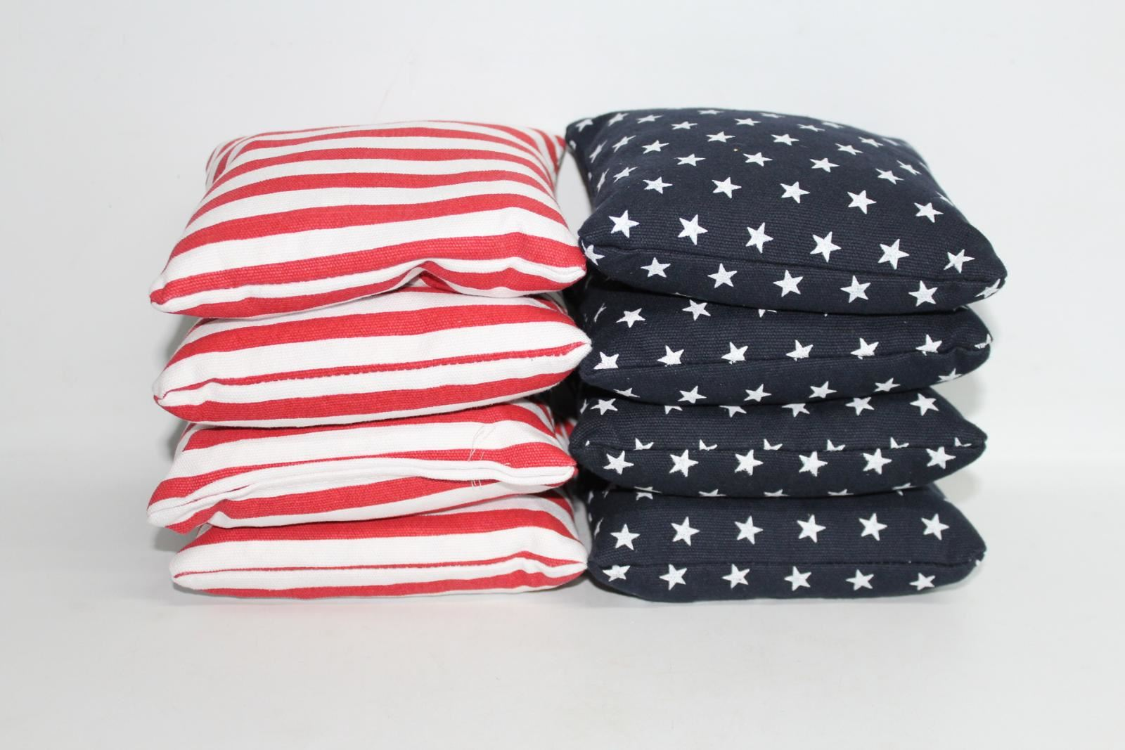 Stars-amp-Stripes-American-Flag-Corn-Bags-For-Sports-amp-School-P-E-Pack-Of-8