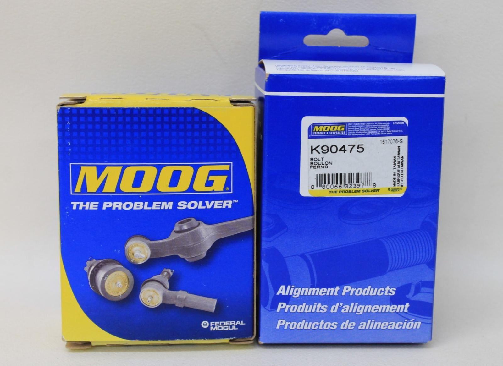 BNIB-MOOG-K90475-Cam-Bolt-Kit-Alignment-Replacement-Pair-For-Cars-amp-Light-Trucks