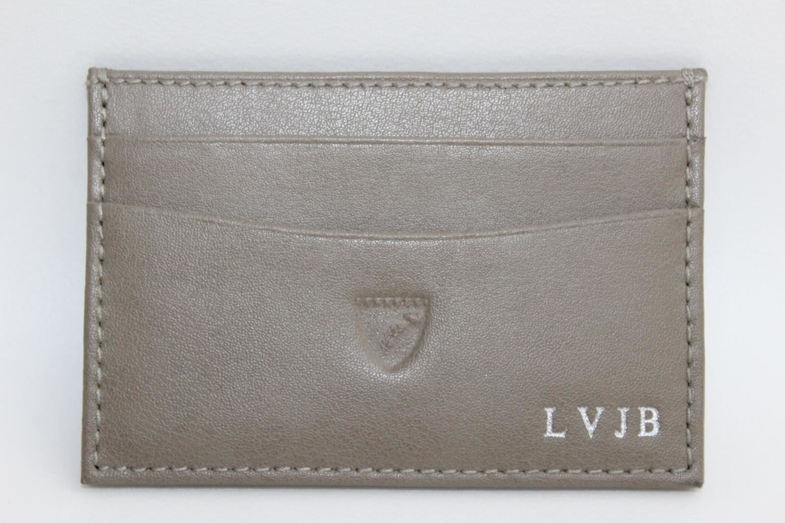 ASPINAL-OF-LONDON-Smooth-Grey-Leather-Slim-6-Slot-Card-Case-Wallet-Embossed