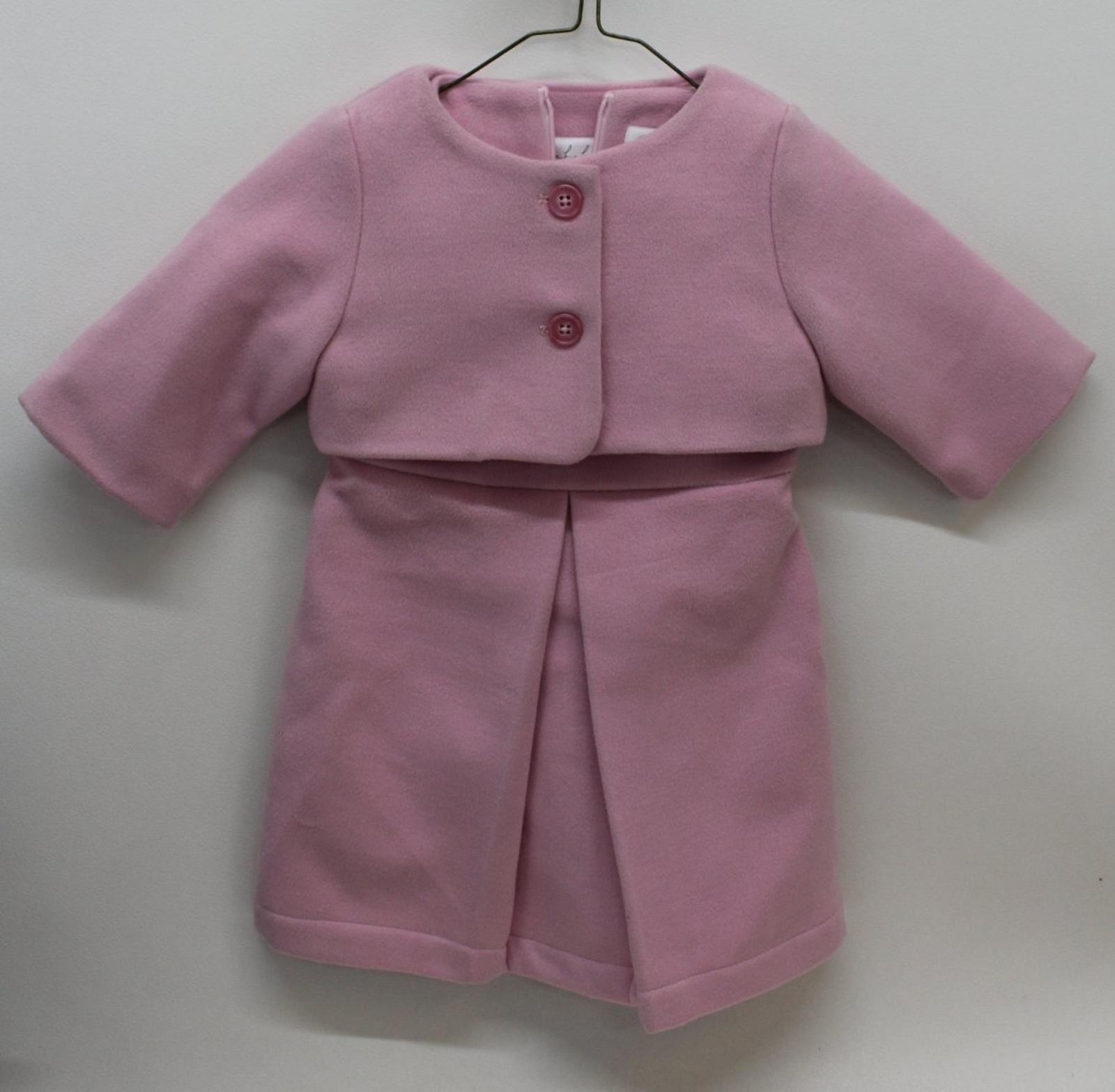 Aisabobo Donna Baby Rosa Ragazze Abito & Giacca Di Corrispondenza Set Outfit Età 3yrs-mostra Il Titolo Originale