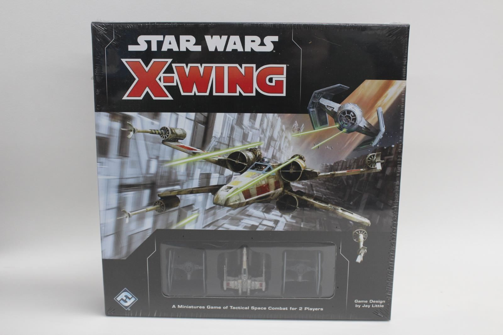 FANTASY FLIGHT GAMES Star Wars X-Wing  2nd Edition Fighter Core Set Gen-Con BNIB