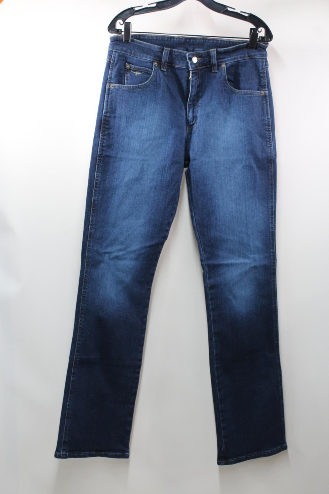 BNWT R.M. WILLIAMS Men's Blau Denim Straight Leg Low Rise Linesman Jeans 34L W32