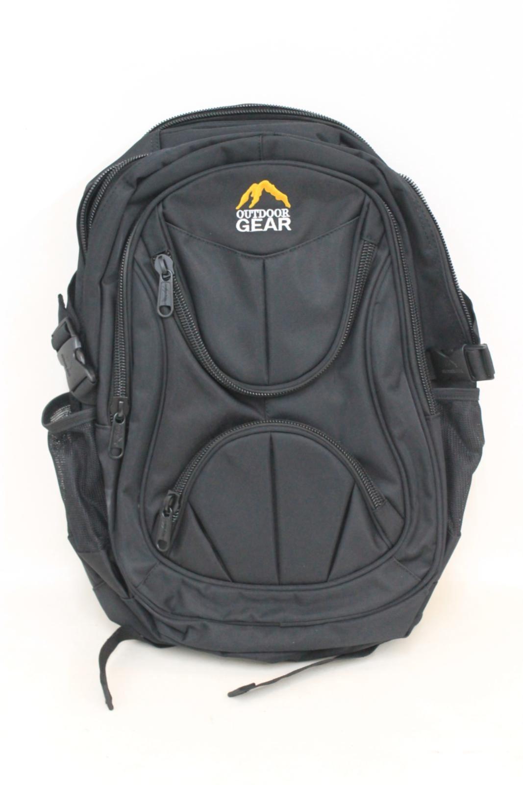 9a98cadc3f NEW OUTDOOR GEAR 6613 Men s Black Waterproof 35L Laptop Backpack Rucksack