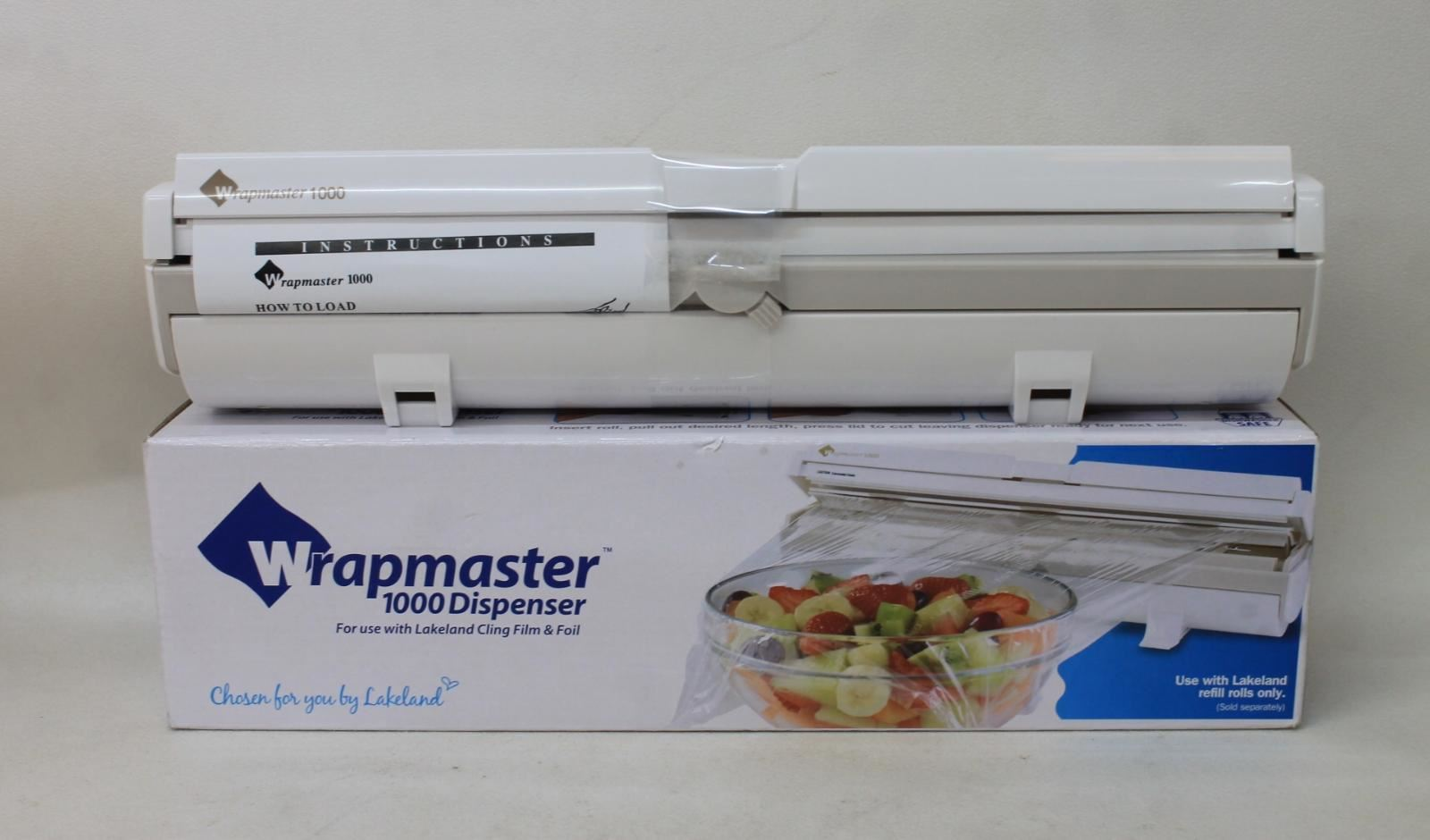 WRAPMASTER-1000-Portable-amp-Compact-Dispenser-For-Lakeland-Cling-Film-amp-Foil-NEW
