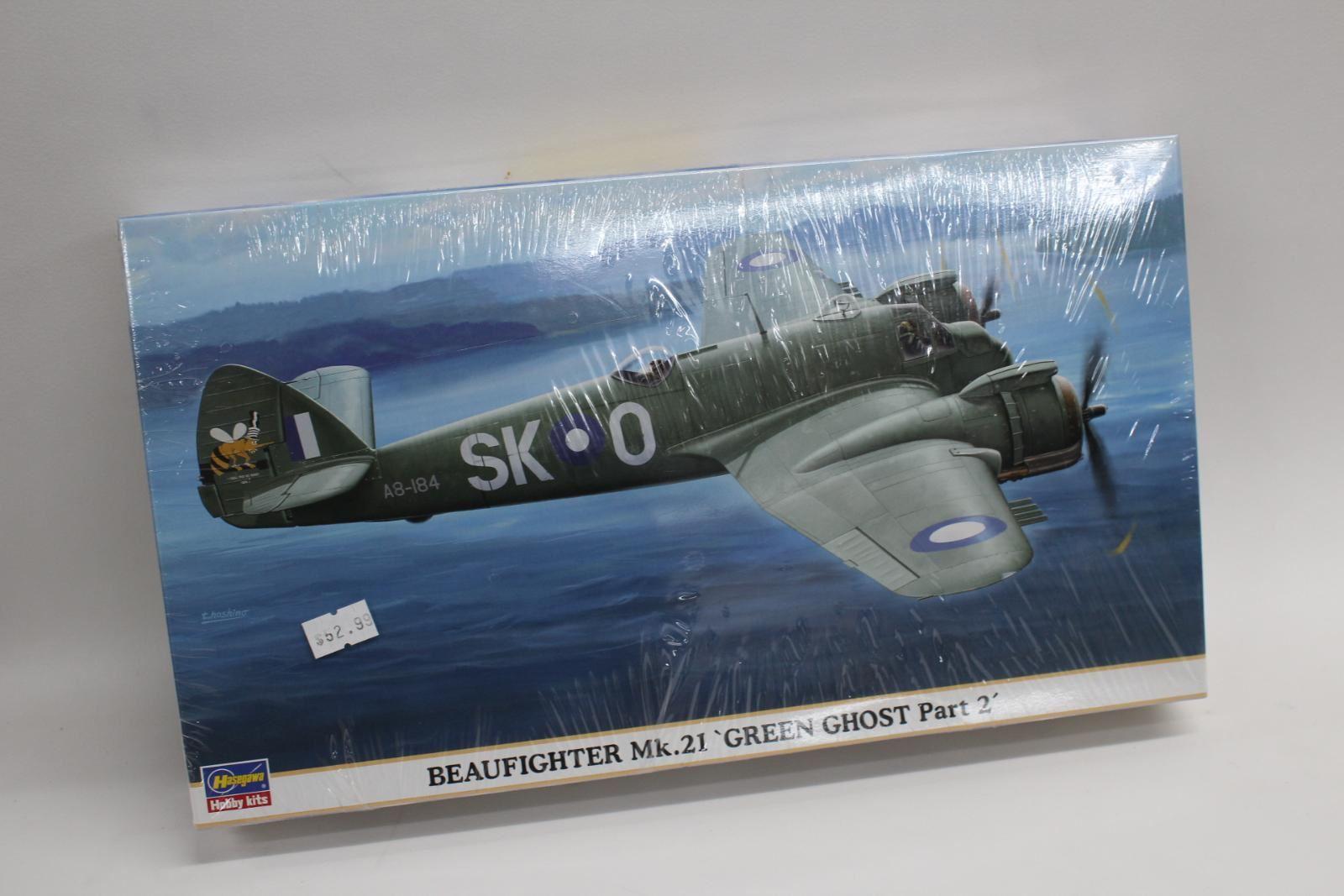 BNIB HASEGAWA Beaufighter Mk.21 'Green Ghost Part 2' 1 72 00943 Hobby Kit