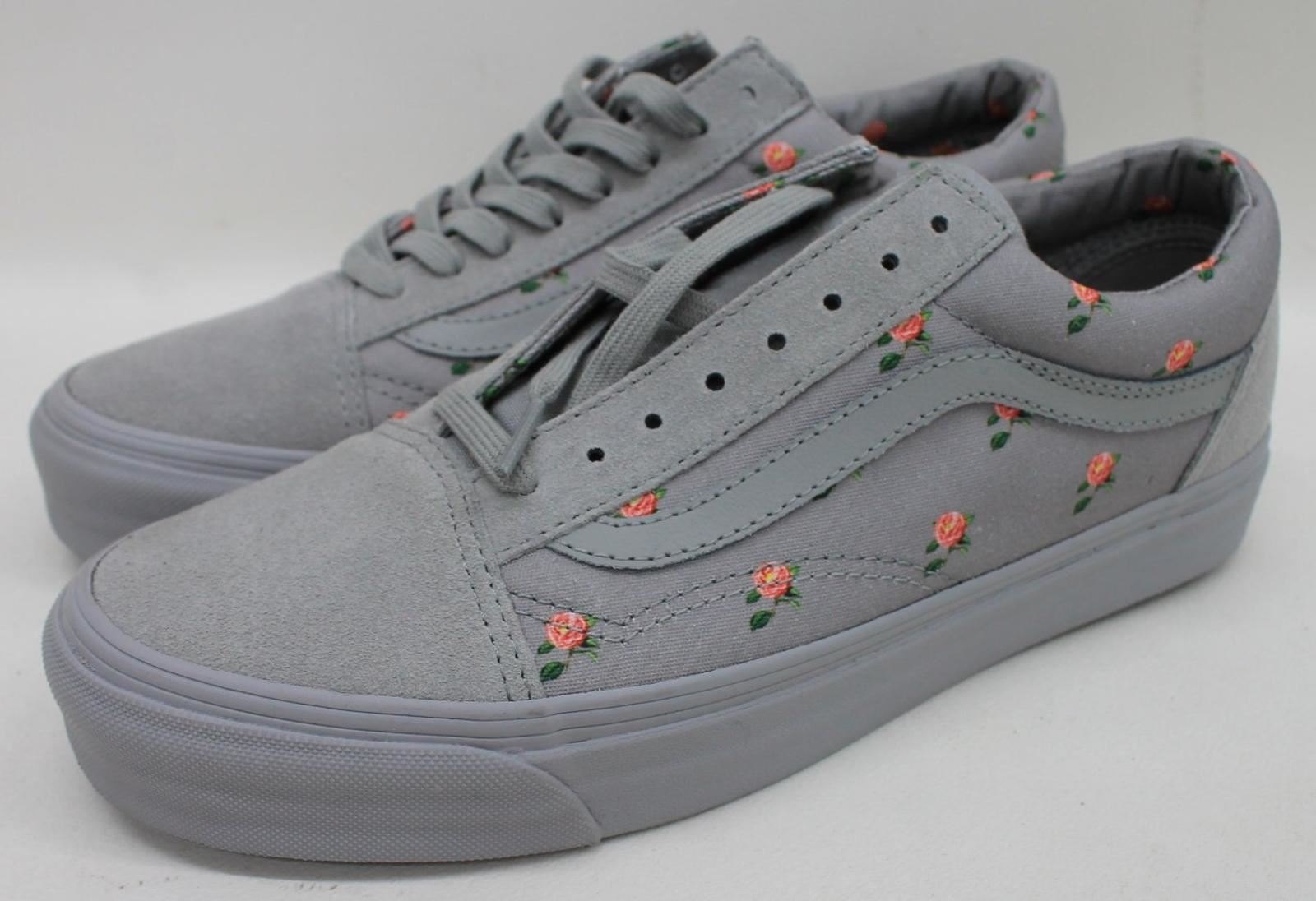 269887cf4 VANS x Undercover OG Old Skool MX Flowers Grey Skate Mens Shoes ...