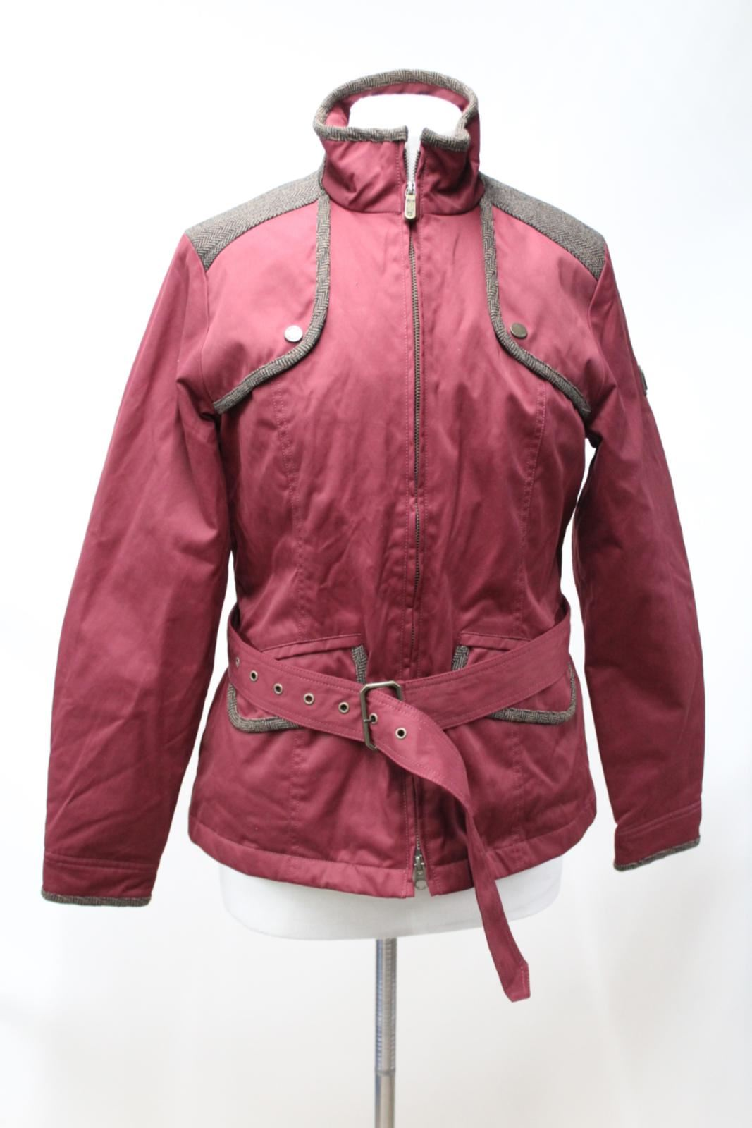 Ladies Doublure Camicia trekking Bnwt da Belt Ceinture Red Veste Uk10 Eu35 Dubarry H9D2eIYWE
