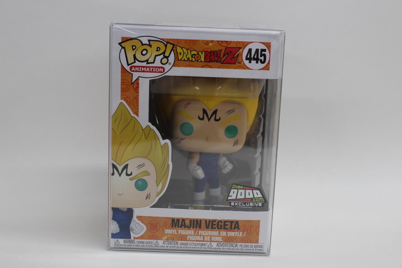 Nouveau Funko Pop! Dragonball Z Majin Vegeta Plus de 9000 figurines exclusives en vinyle 445