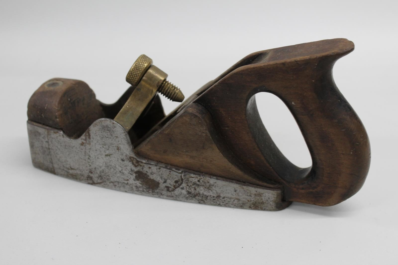 NORRIS LONDON Antique Smoothing Plane Tool Sole 19.5cm Rosewood Collectible