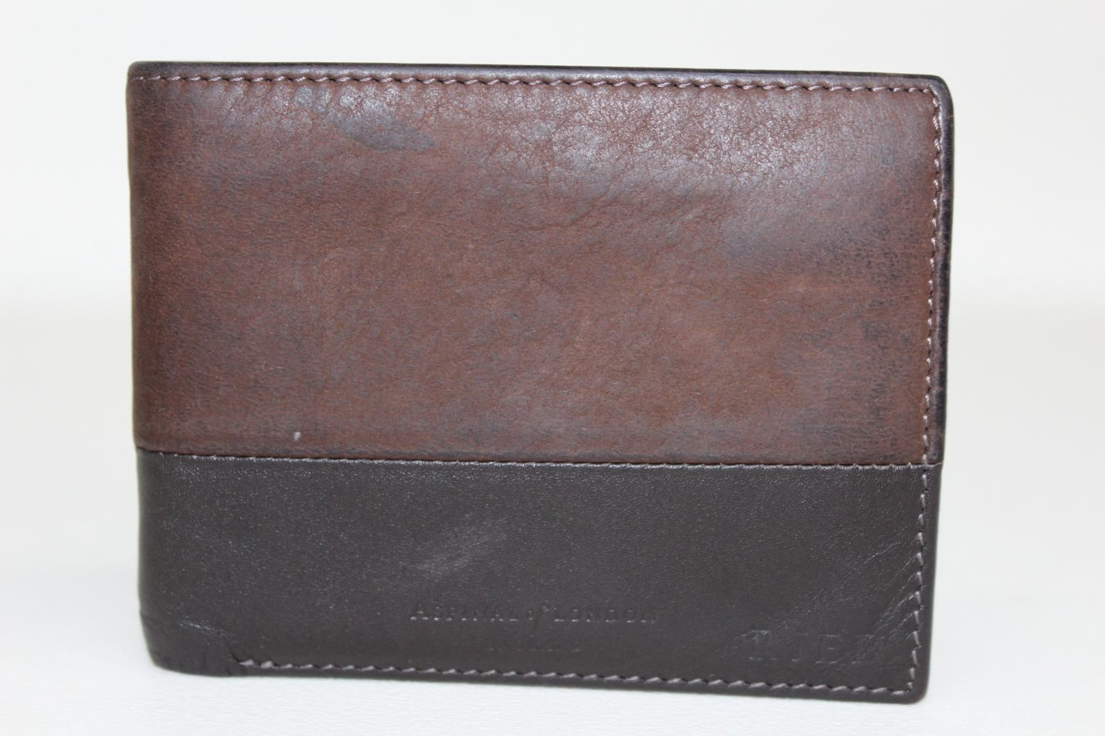 ASPINAL-OF-LONDON-Calf-Smooth-Black-amp-Espresso-Suede-8-Card-Billfold-Wallet