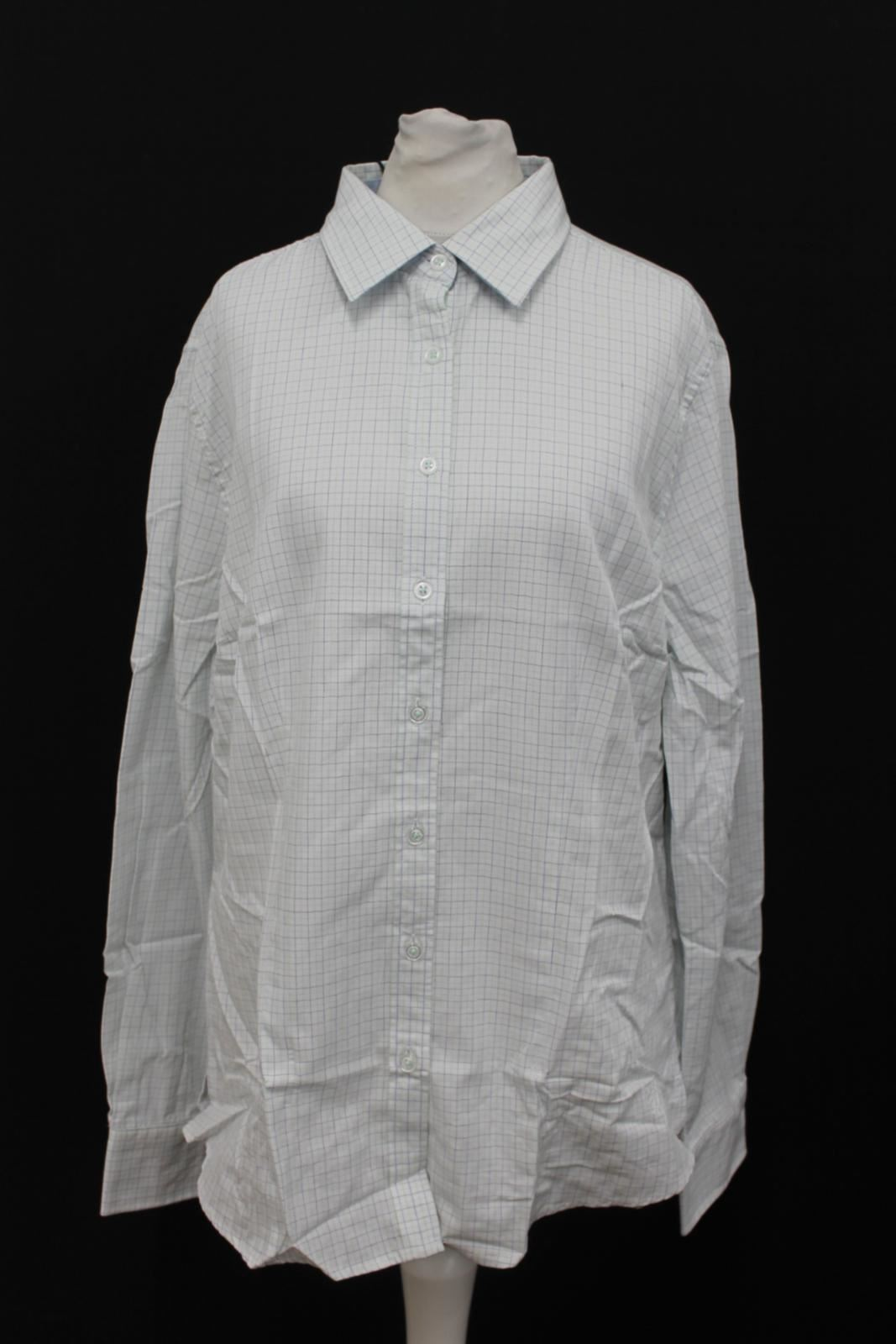 Dubarry Check Shirt Sleeve Cotton Long Lime Size Uk16 Sagewood Bnwt Ladies Eu42 gqwx04gd