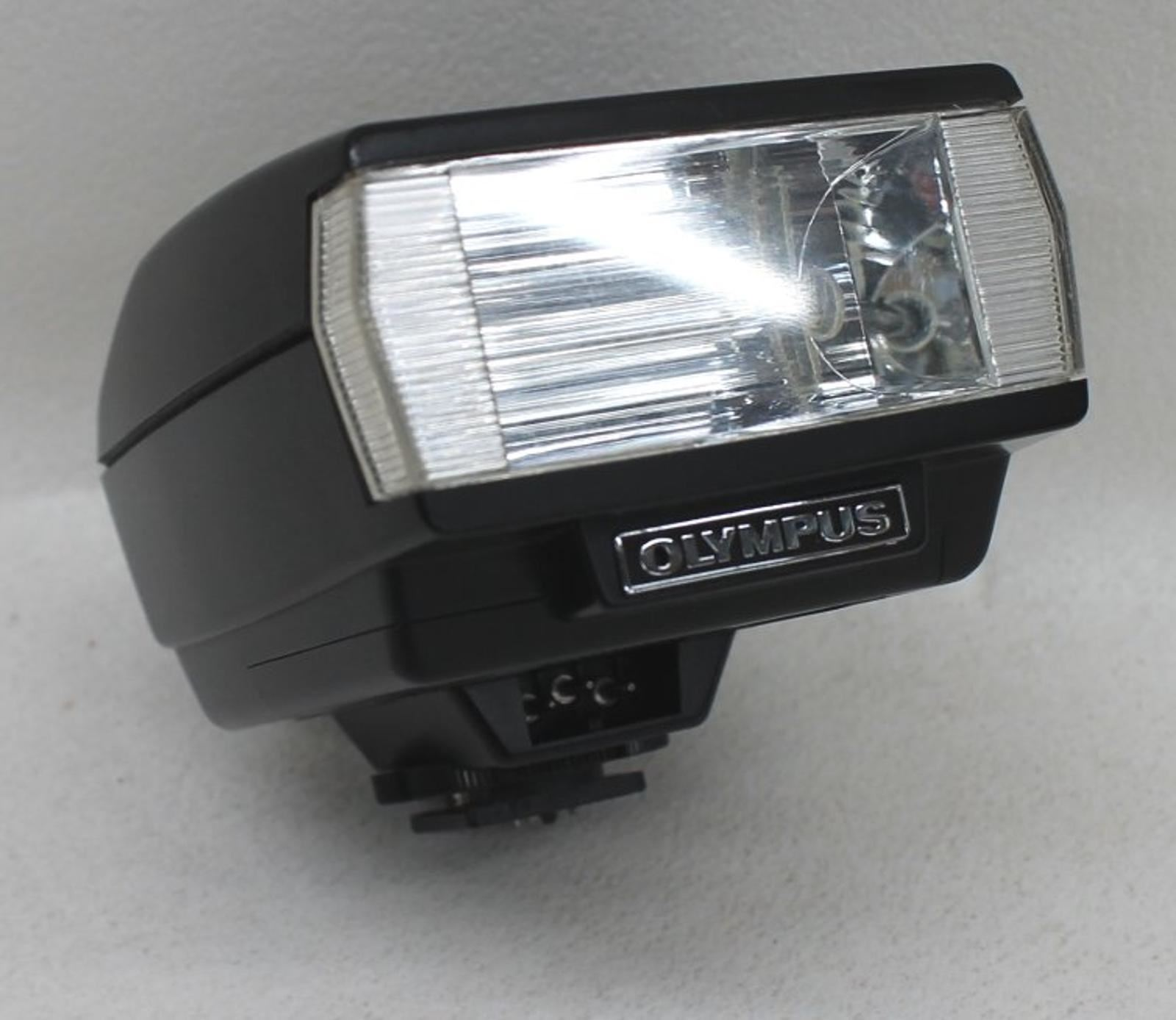 OLYMPUS-T20-Electronic-Shoe-Mount-Flash-Unit-For-OM-SLR-Series-Film-Cameras
