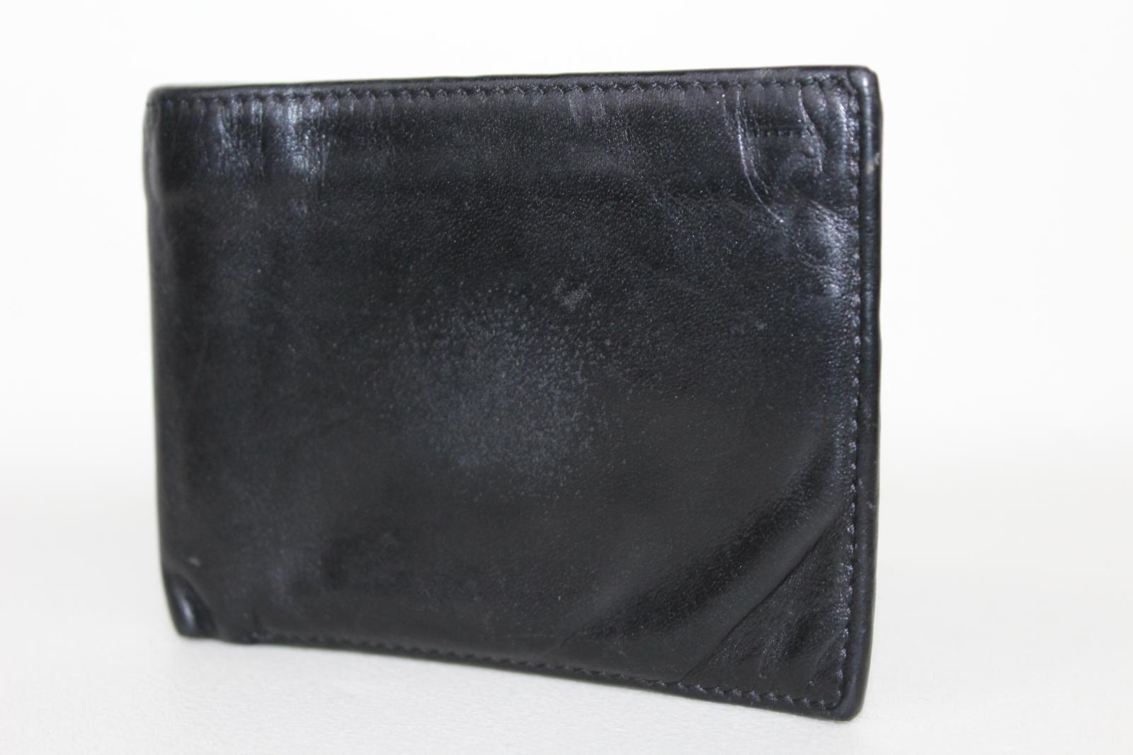 ASPINAL-OF-LONDON-Calf-Smooth-Black-amp-Red-Interior-8-Card-Billfold-Wallet