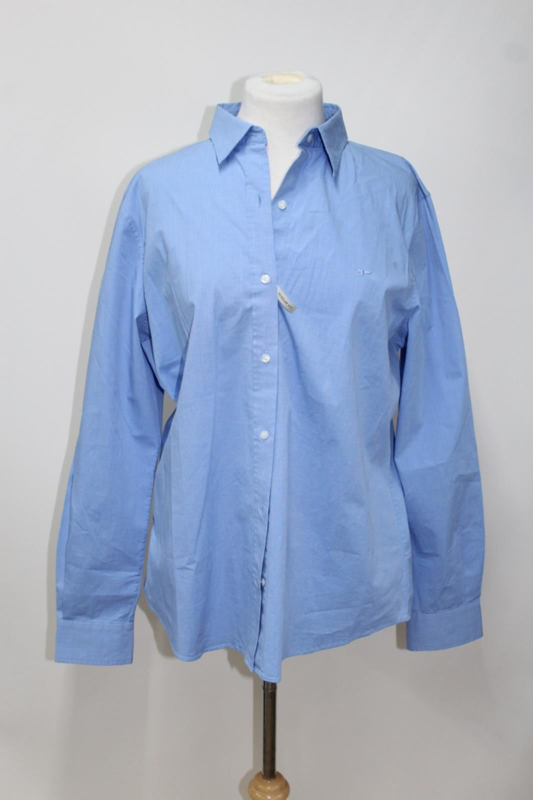 Shirt Stretch Blue Bnwt Cotton R Uk16 Cornflower Williams Nicole m Ladies xxzqTRZ0