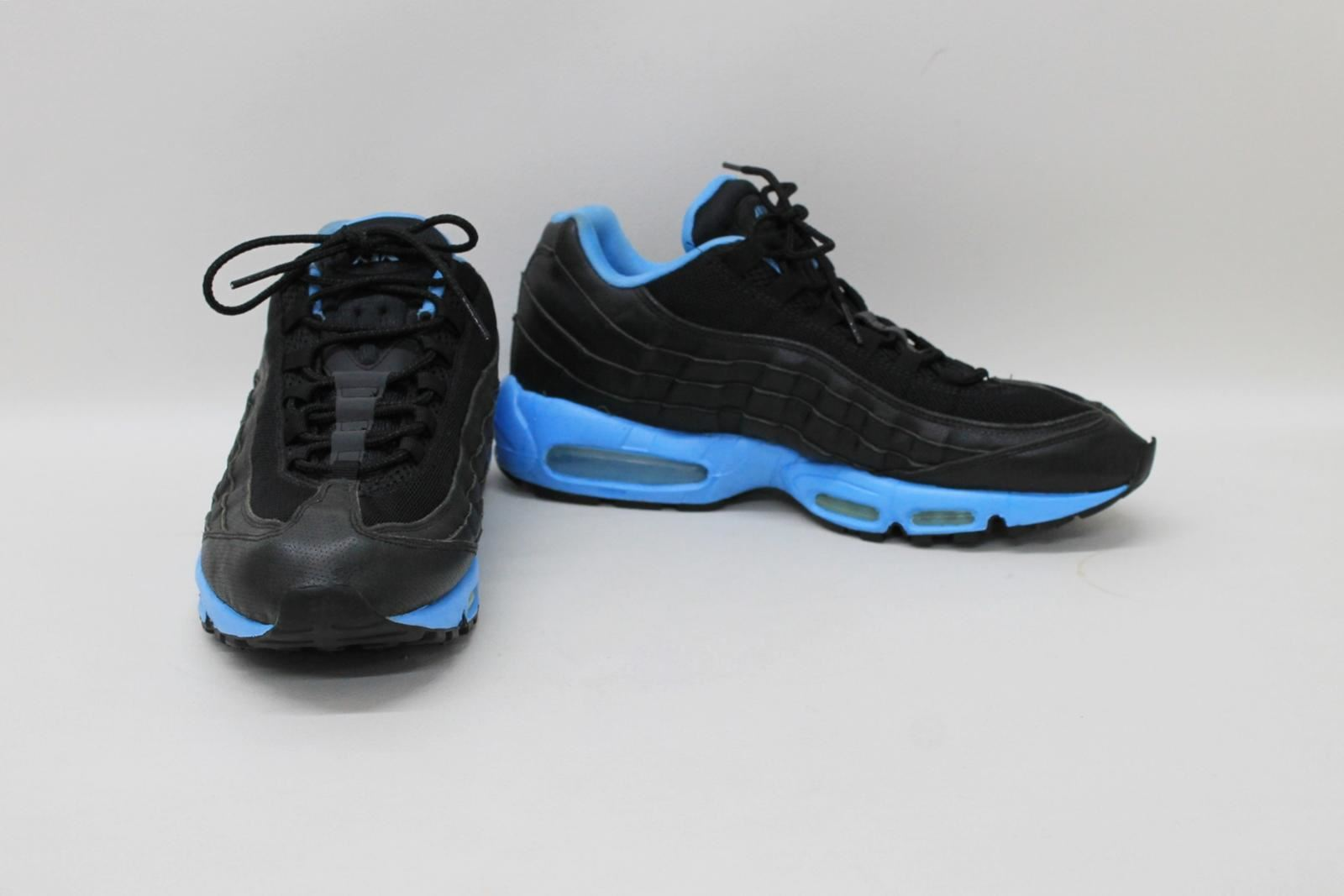 ec458994ee NIKE Air Max 95 Men's Black Blue Lace Up Trainers Shoes Size UK12 ...