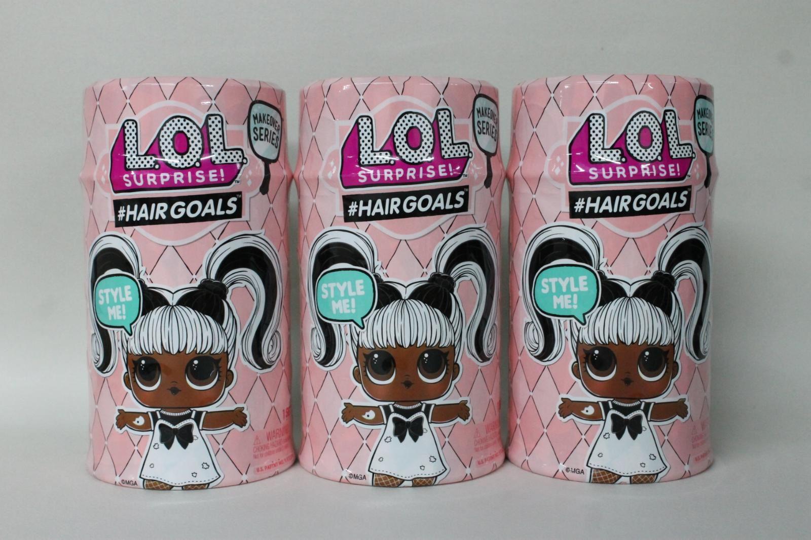 3-X-nuevo-l-o-l-sorpresa-Hairgoals-Makeover-serie-Muneca-Y-Accesorios-Set