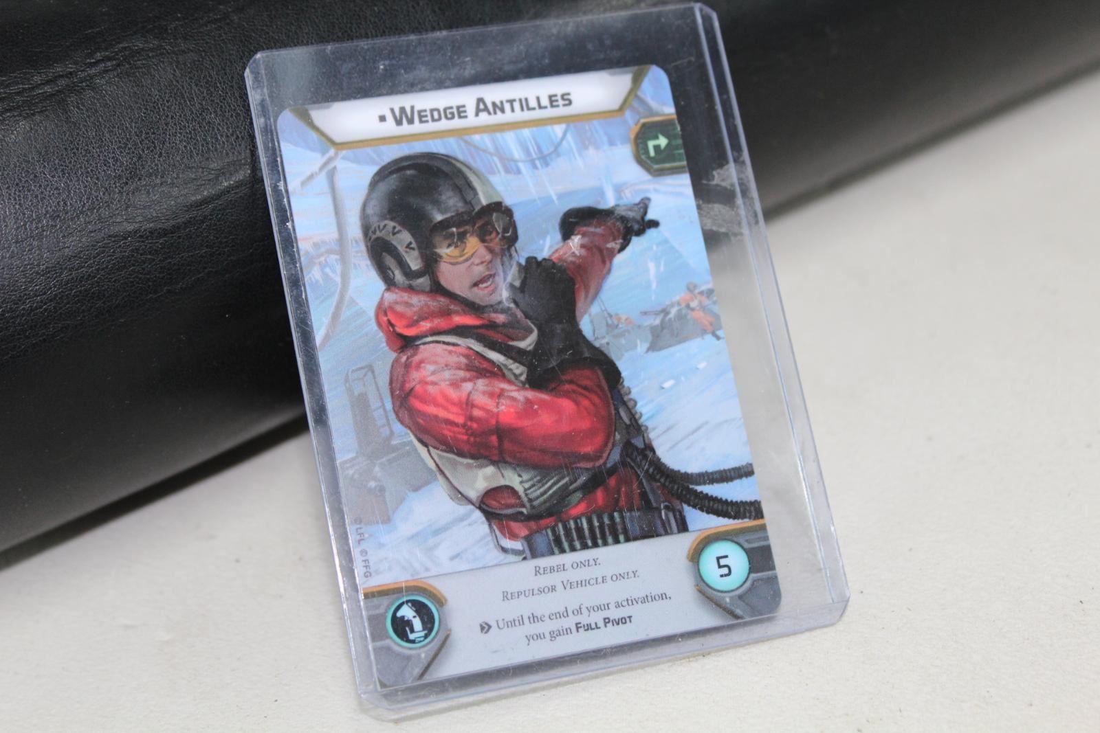 LEGION Star Wars Card Wedge Antilles General Weiss Gen-Con 2018 Promo Card NEW