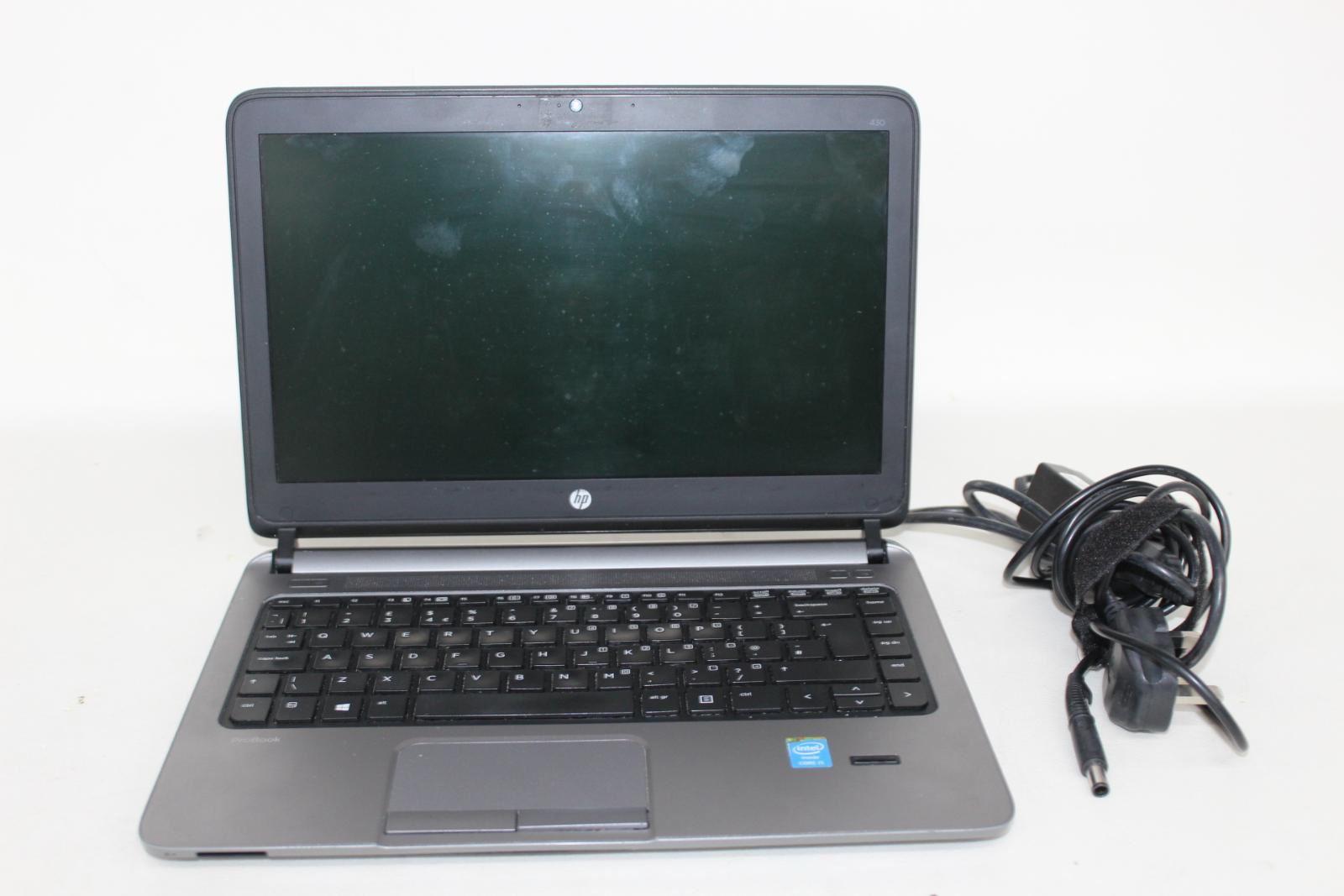 HP-ProBook-430-G1-IntelCore-i5-13-034-affichage-4-Go-RAM-Sans-Disque-Dur-Noir-Ordinateur-Portable