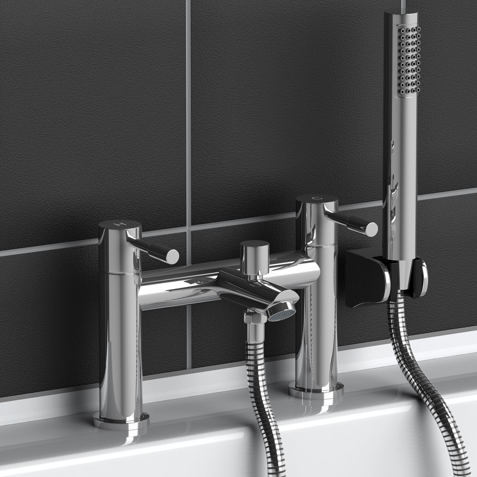Chrome Bath Filler Mixer Tap. buy the essential crest bath shower ...