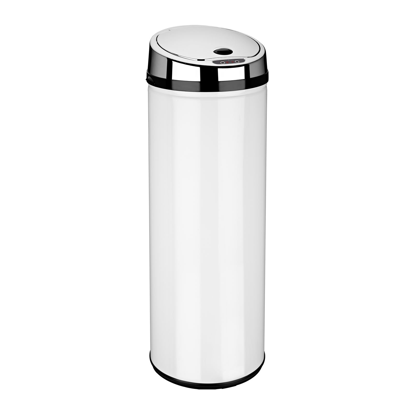 White Kitchen Bin graded automatic sensor bins 30l/42l/50l/58l/68l capacity (round