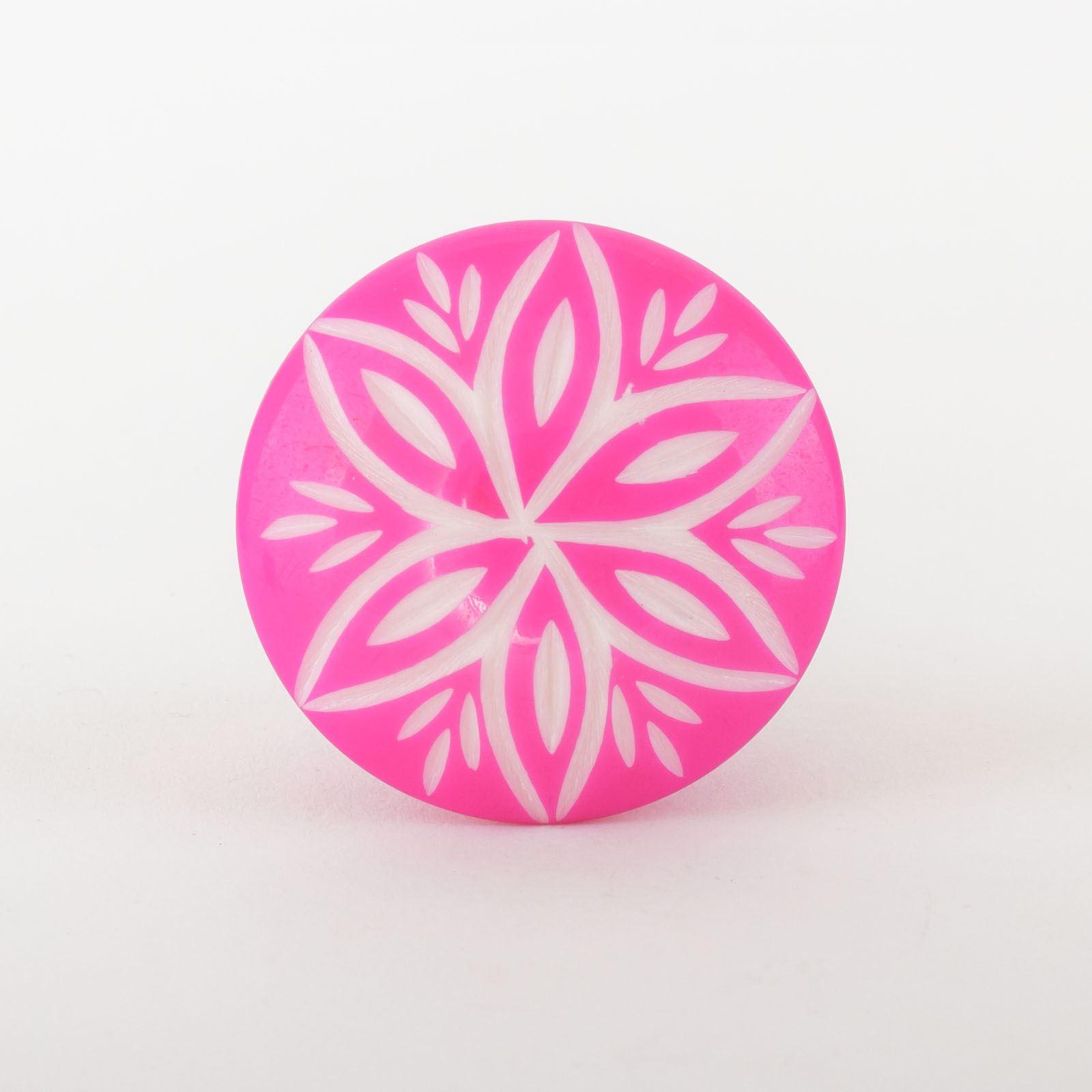 Pink Green Ceramic Resin Door Knobs Handles Furniture Drawer Pulls ...