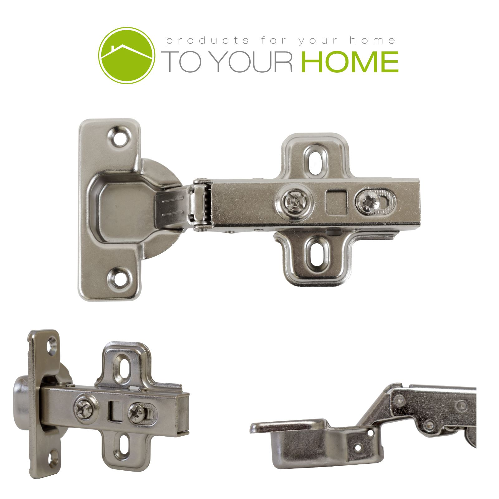 Kitchen Cabinet Hinges Soft Close: SOFT CLOSE KITCHEN CABINET CUPBOARD DOOR 35MM FULL OVERLAY