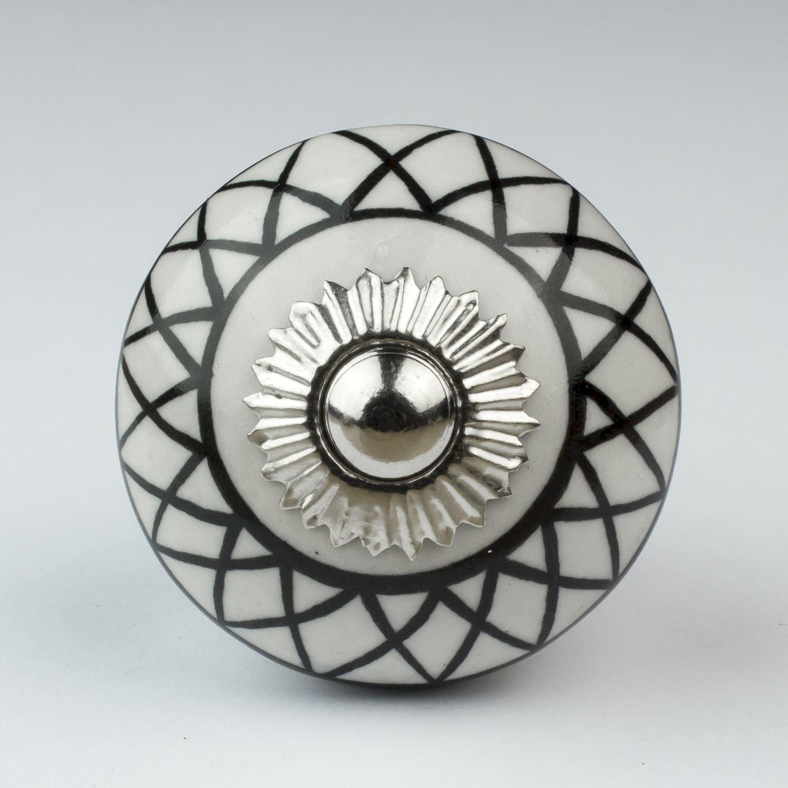 Vintage Mix And Match Ceramic Door Knobs Handles