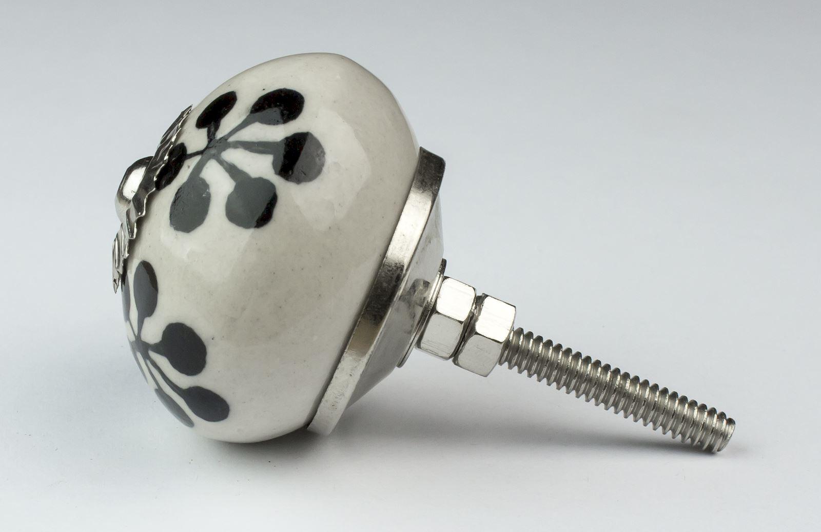 Vintage-Mix-and-Match-Ceramic-Door-Knobs-Handles-Furniture-Drawer-Pulls-Cupboard miniatura 41