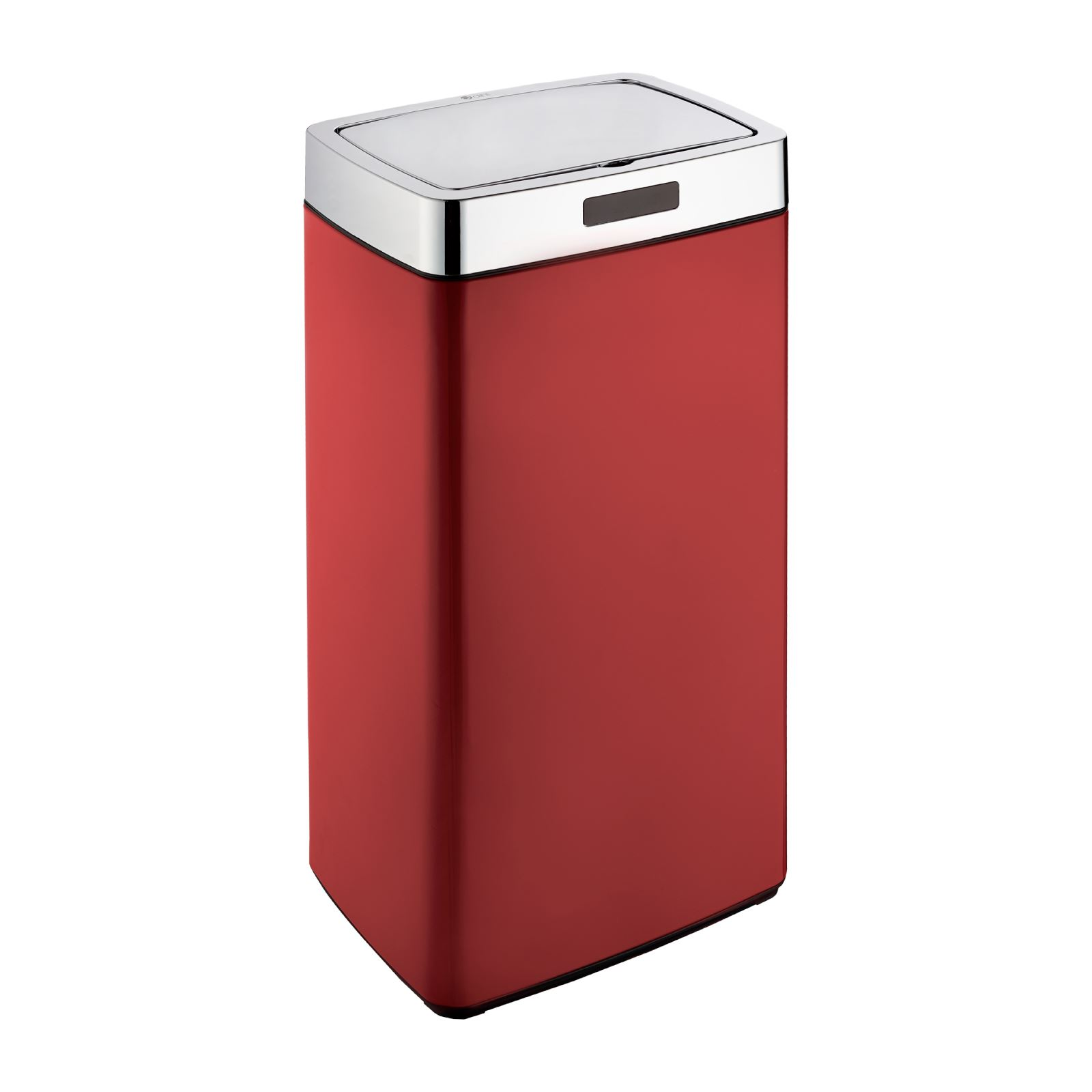 Kitchen Waste Bins: Dihl Round Rectangle Automatic Sensor Bin Chrome Lid All