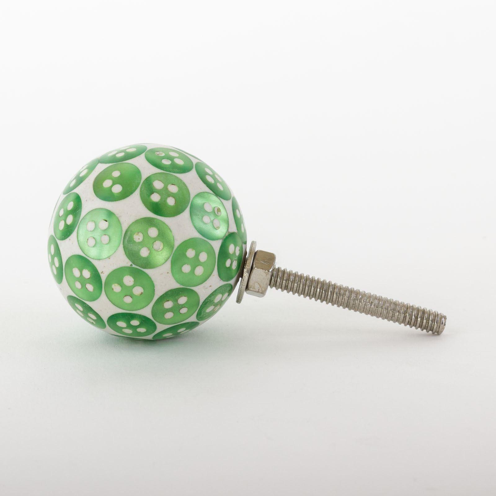 Dots-amp-Stripes-Ceramic-Door-Knobs-Handles-Furniture-Drawer-Pulls-Cupboard miniatura 39