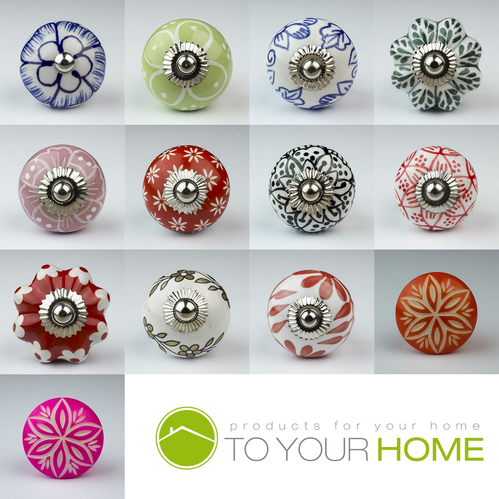 Decorative Drawer Pull or Cabinet Knob Clear Glass Flower Door Knob Unique Floral Furniture Handle for a Modern or Shabby Chic Home D\u00e9cor