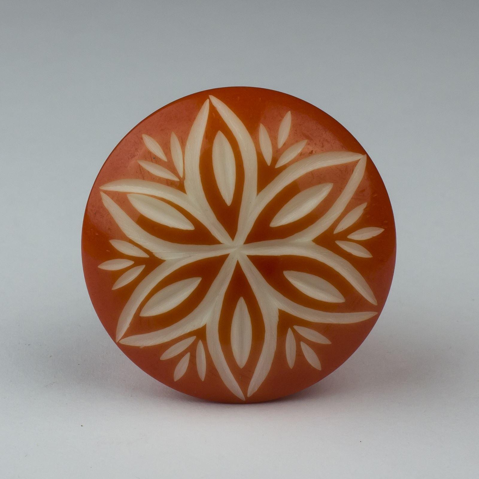 Red Orange Gold Ceramic Door Knobs Handles Furniture Drawer Pulls ...