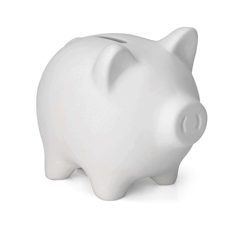 miniatuur 27 - Paint Your Own Piggy Bank Mug Dinosaur Unicorn Marbling Ceramic Xmas Gift