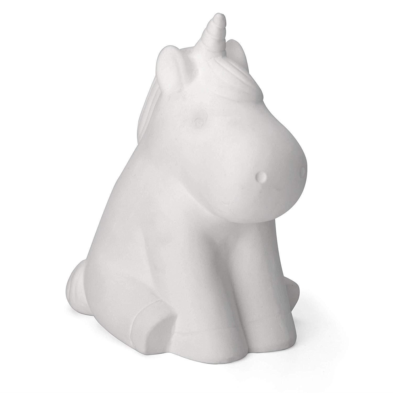 miniatuur 30 - Paint Your Own Piggy Bank Mug Dinosaur Unicorn Marbling Ceramic Xmas Gift