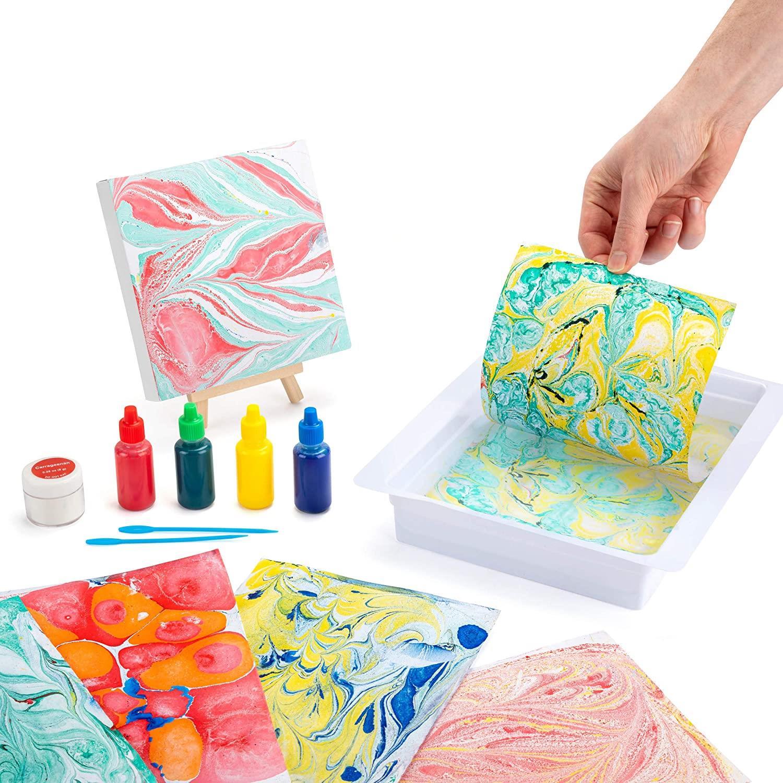 miniatuur 3 - Paint Your Own Piggy Bank Mug Dinosaur Unicorn Marbling Ceramic Xmas Gift