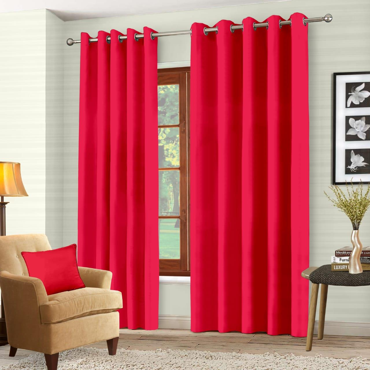 Luxury-Thermal-Blackout-Eyelet-Ring-Top-Curtains-Pair-with-tie-backs thumbnail 36