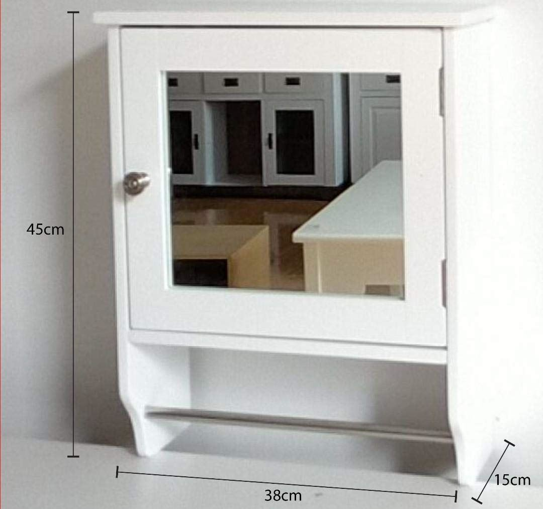 Wall Mounted Under Sink Bathroom Storage Cabinet Portland: Wall Mounted Cupboard Bathroom Kitchen Cabinet Single