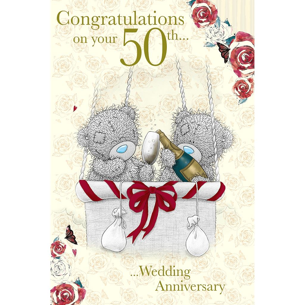 How to congratulate on the 50th anniversary