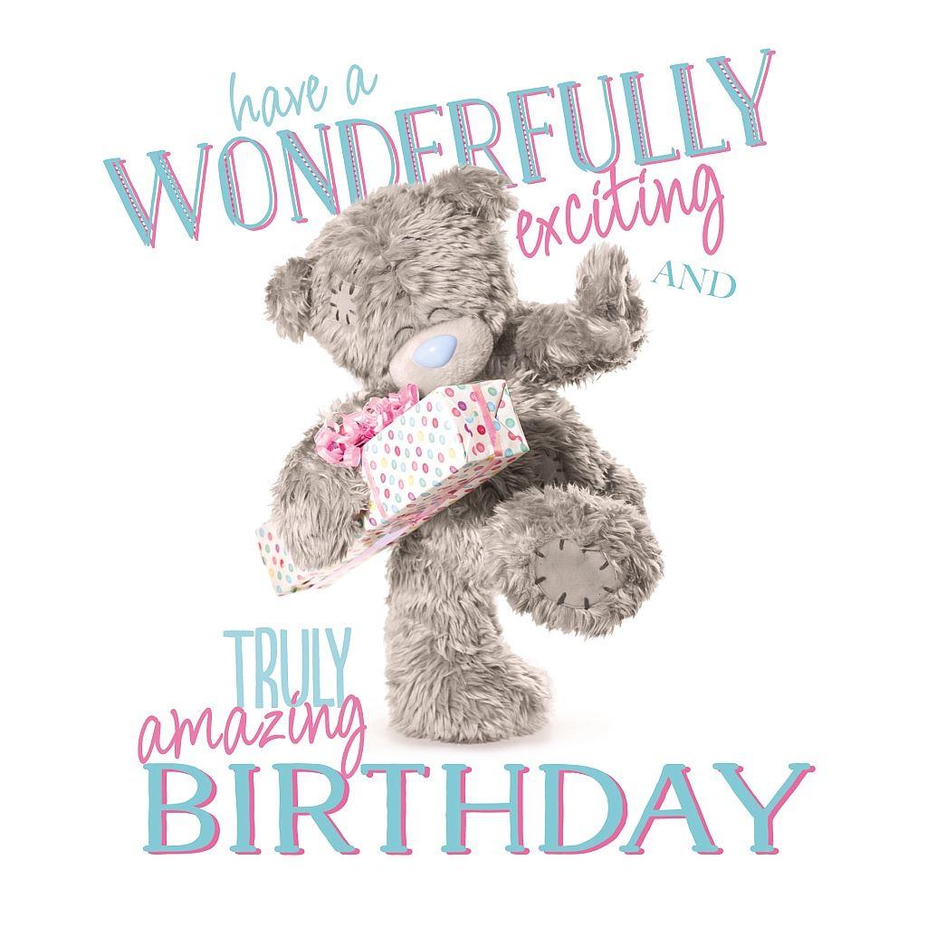Me to You Birthday Card Variety Various Tatty Teddy Bday Greetings – Tatty Teddy Birthday Cards