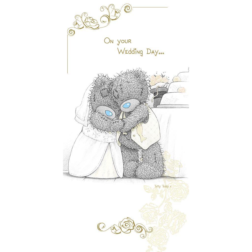 Открытки мишки тедди свадьба
