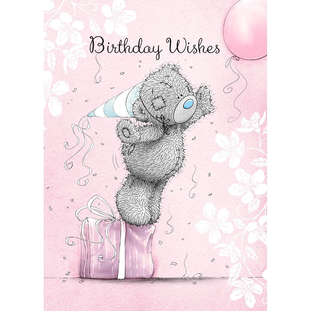 Me to You Birthday Greetings Cards Selection Tatty Teddy Bear Card – Tatty Teddy Birthday Cards