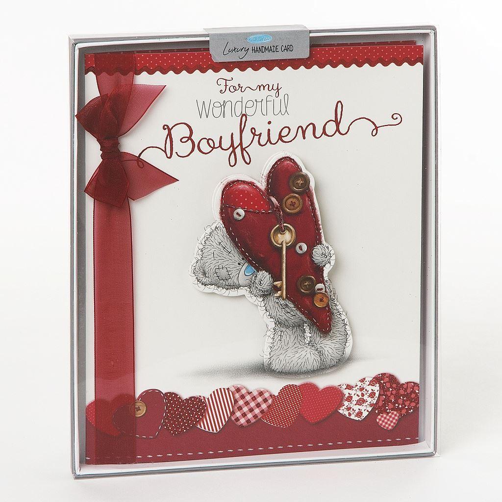 Handmade birthday greeting cards teddy bear