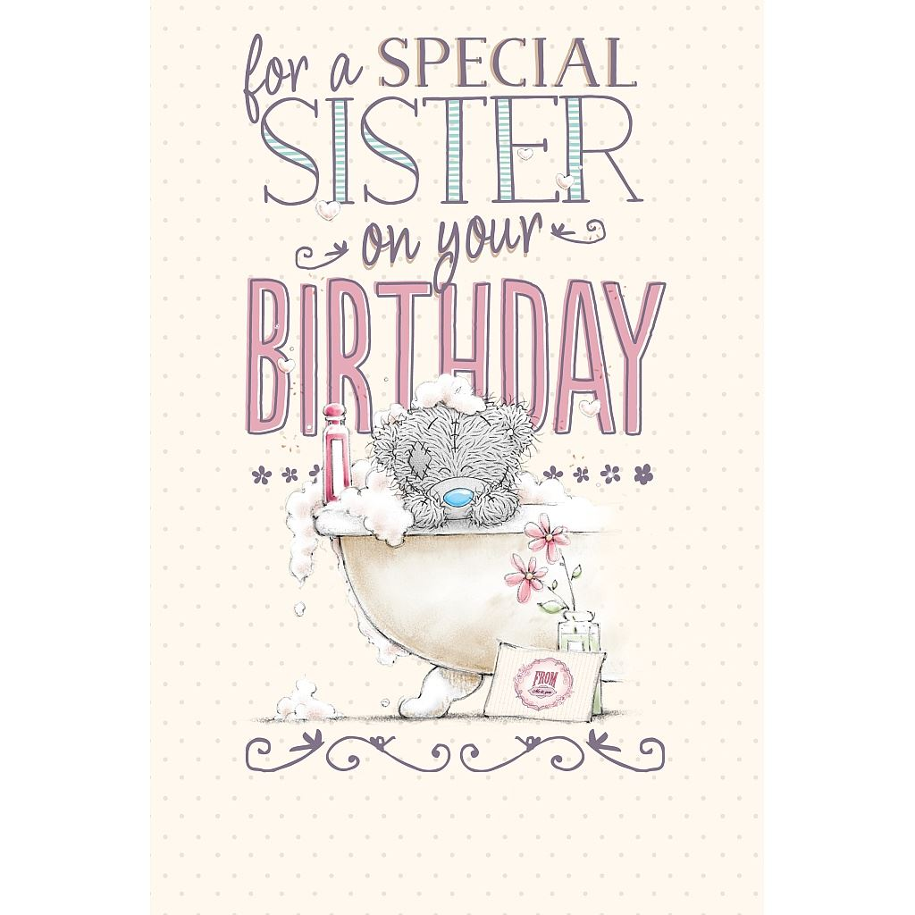 Me To You Birthday Greetings Cards Selection Tatty Teddy Bear Card