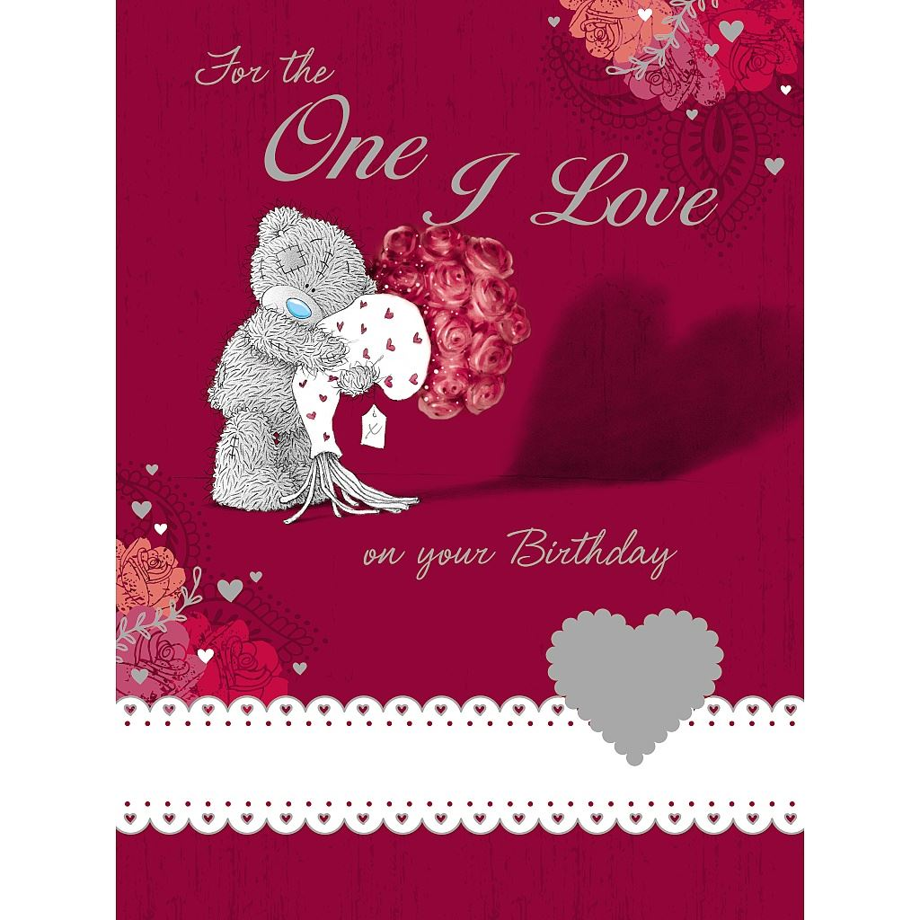 Me To You Birthday Cards Choose Recipient Wife